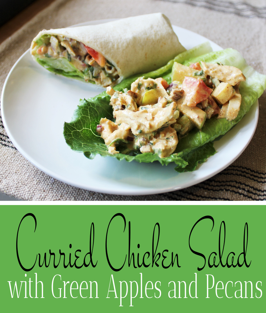 Curried Chicken Salad with Green Apples and Pecans