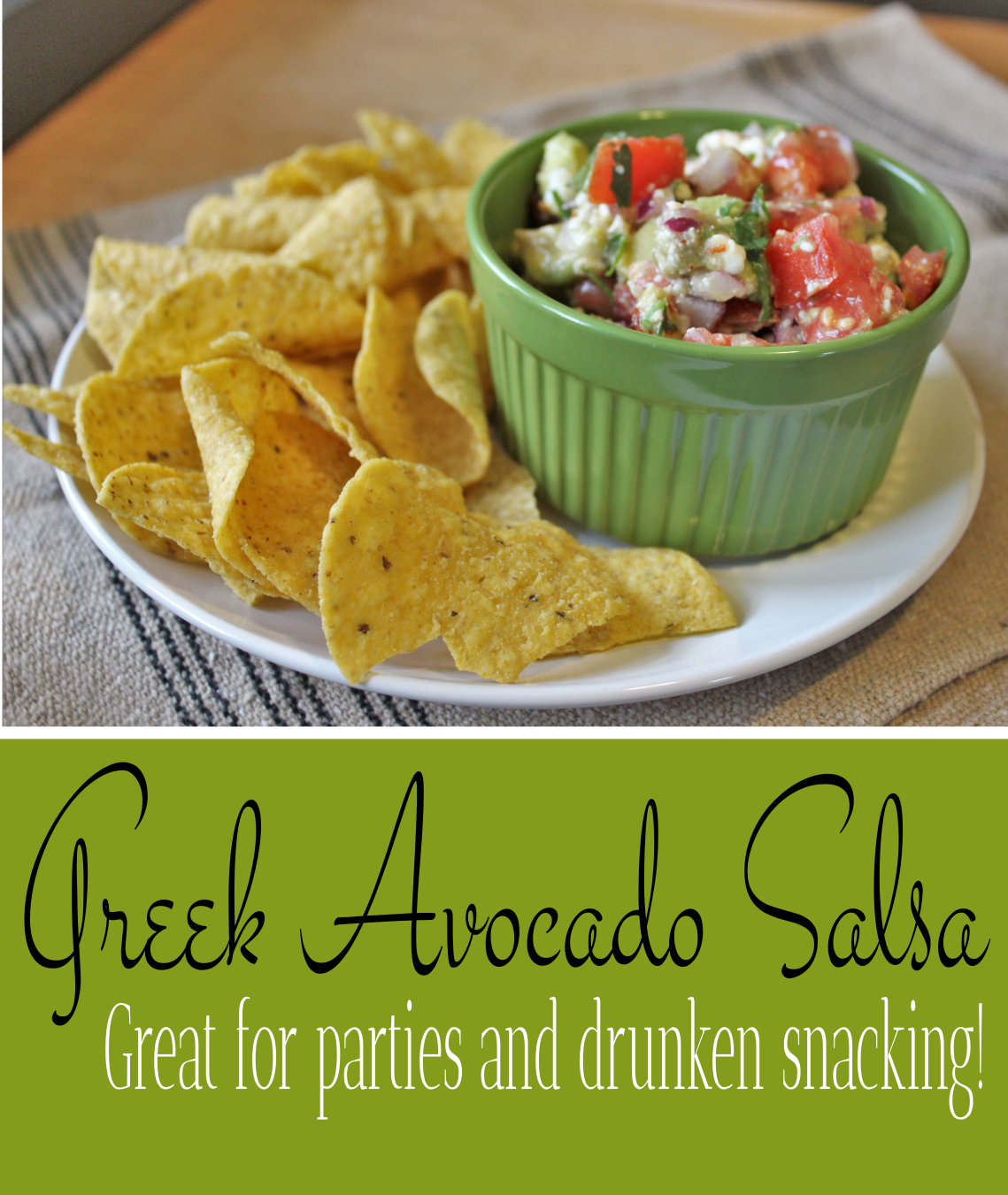 Greek Avocado Salsa