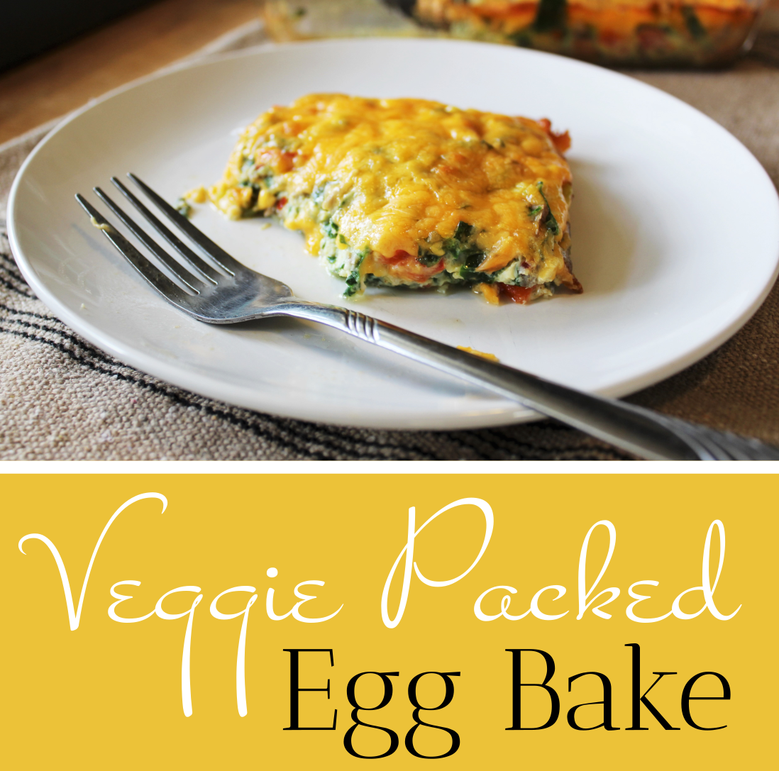 Veggie Packed Egg Bake