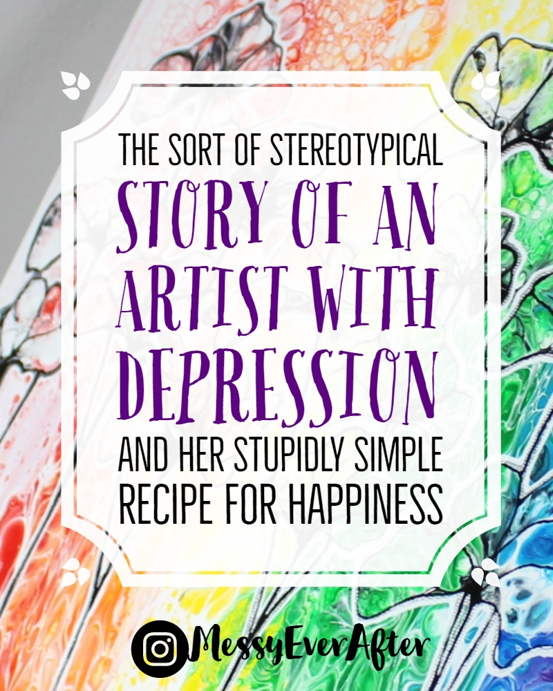 The sort of Stereotypical Story of an Artist with Depression