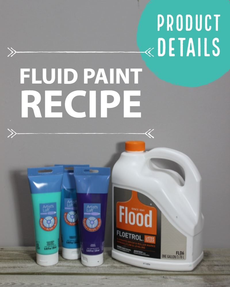 My Fluid Paint Recipe