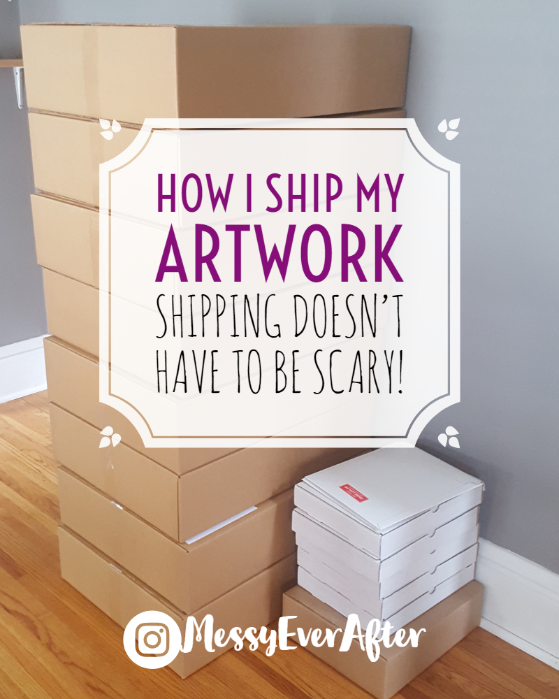 How I Ship My Artwork