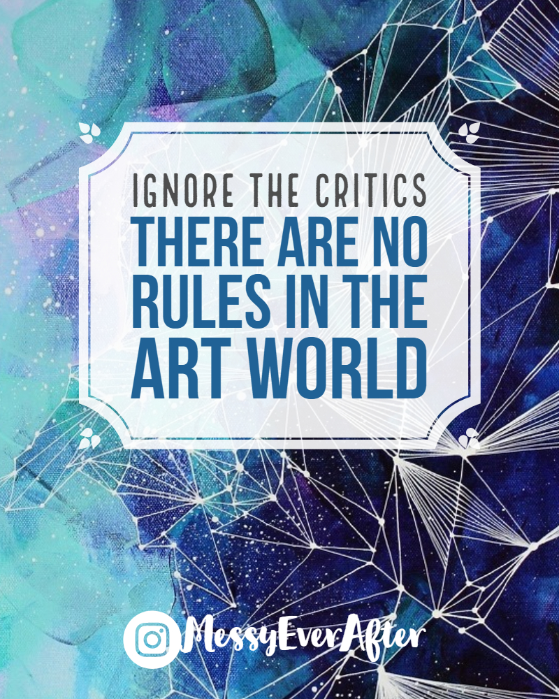 There Are No Rules in the Art World