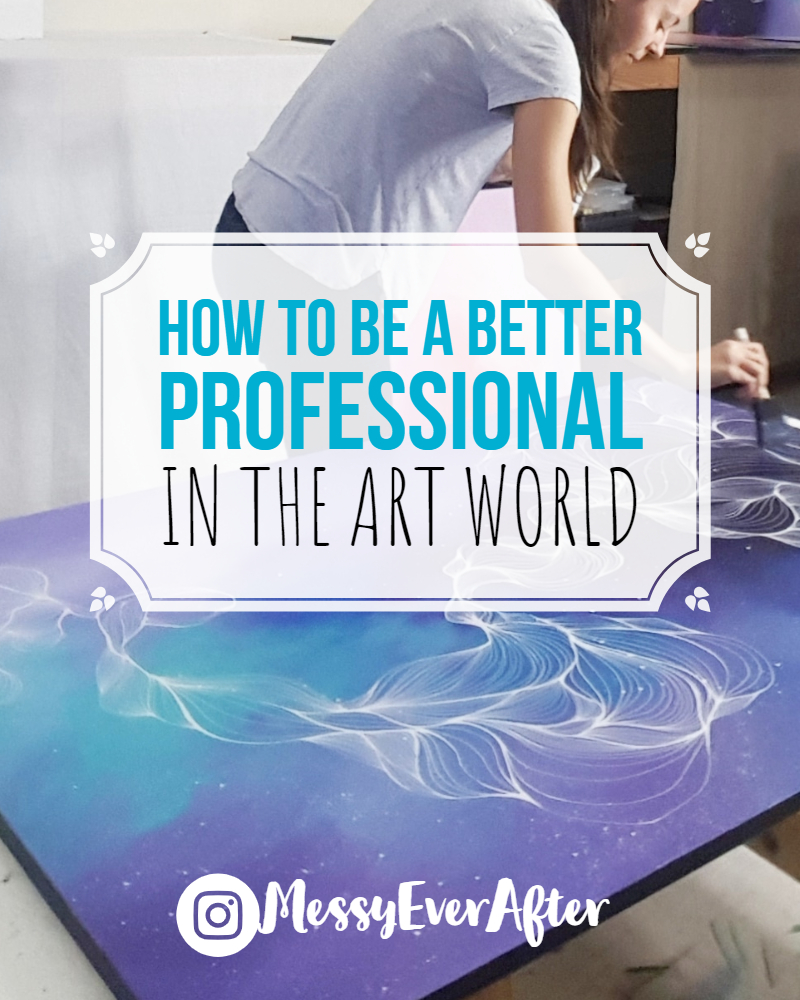 How to be a Better Professional in the Art World