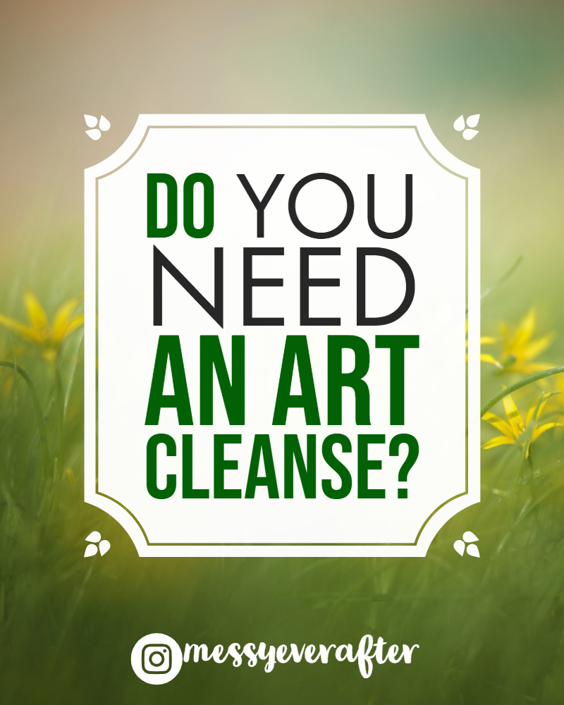 Do You Need an Art Cleanse?