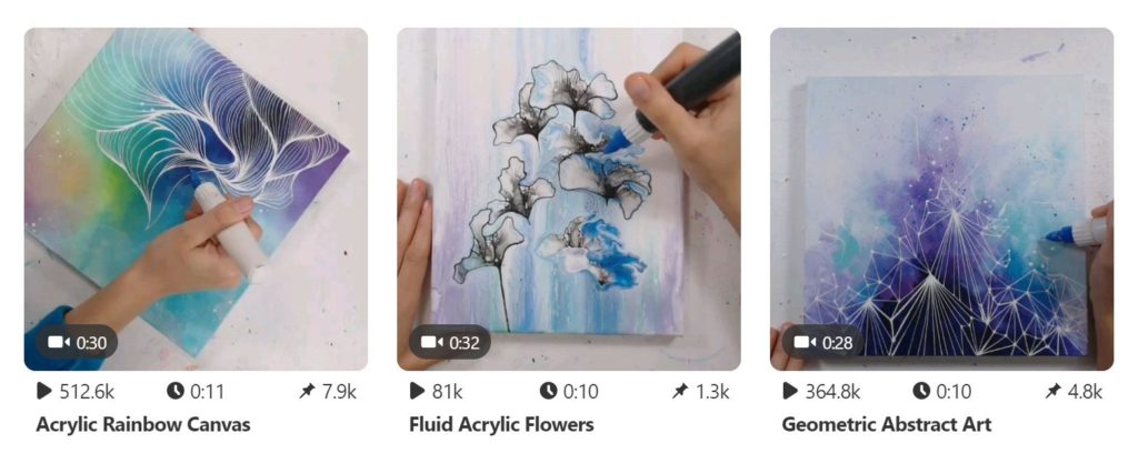 It S Time To Post Art Videos On Pinterest And Tiktok Messy Ever After