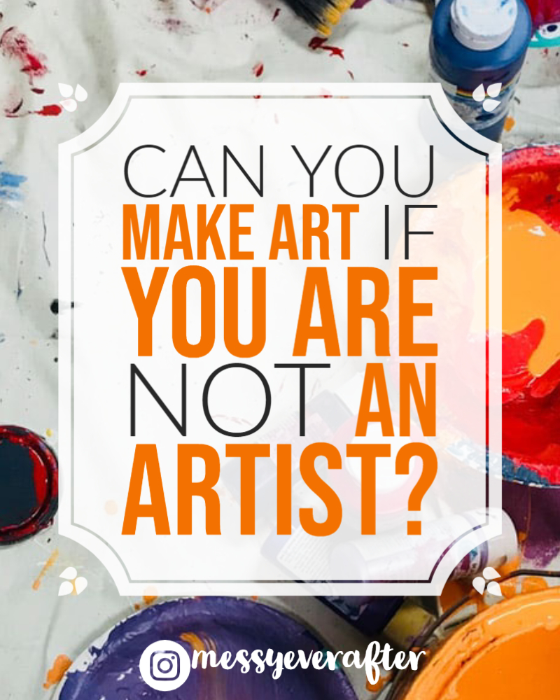 Can You Make Art if You Are Not an Artist?