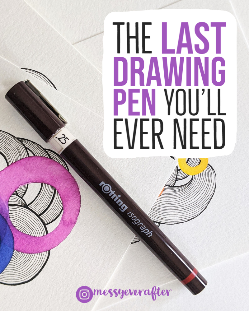 The Last Drawing Pen You'll Ever Need