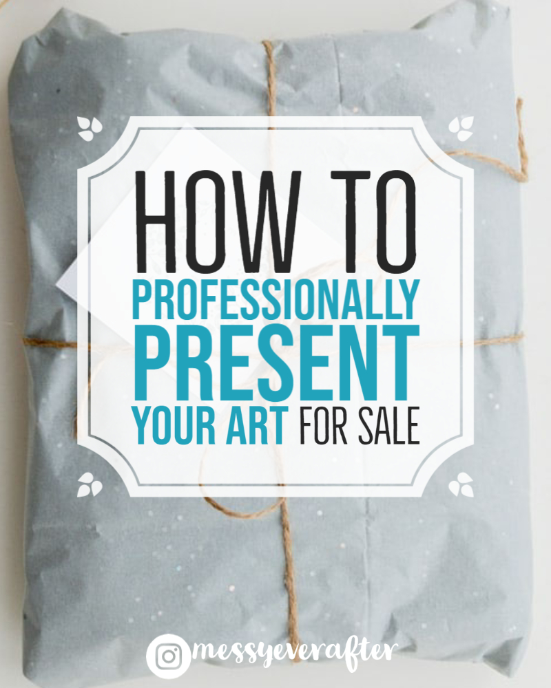 How to Professionally Present Your Art for Sale