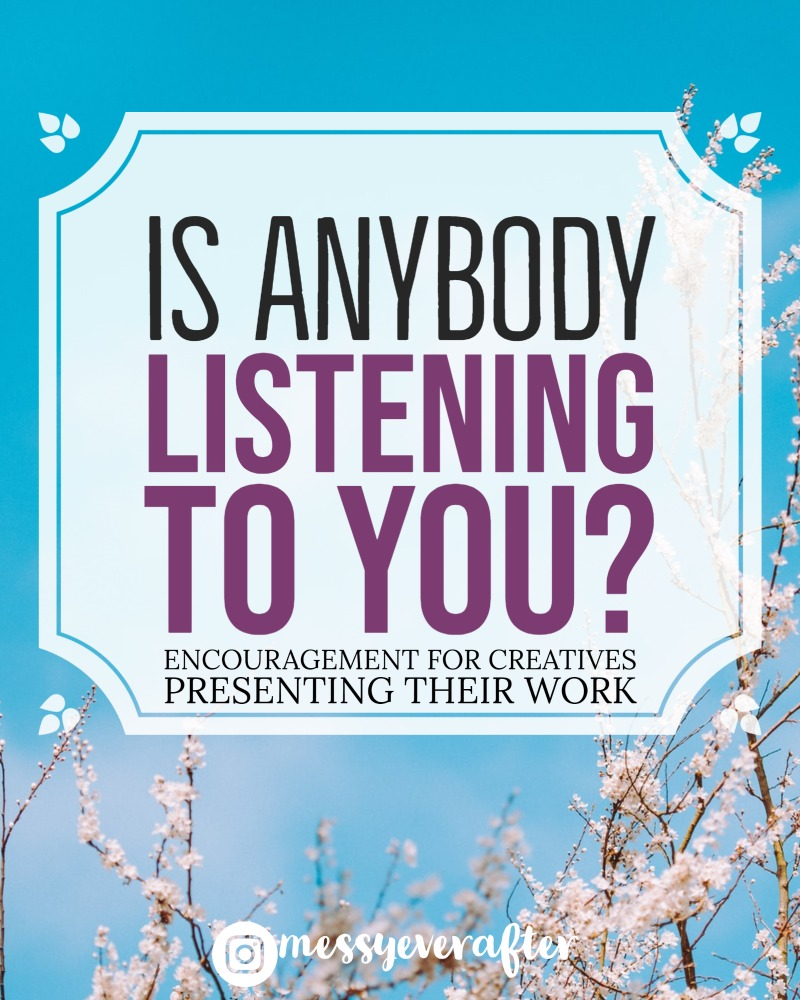 Is Anybody Listening to You?